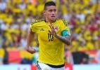 Pekerman confirma James Rodríguez como titular da Colômbia contra o Brasil - LUIS ROBAYO/AFP