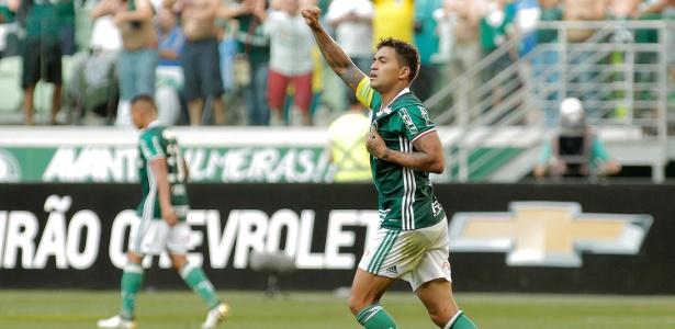 Aos 24 anos, Dudu virou capitão e um dos principais líderes dentro do elenco do Palmeiras