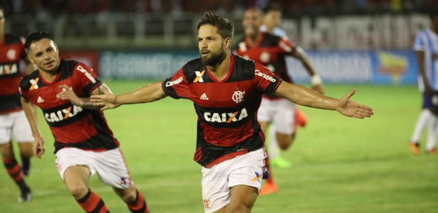O Flamengo, do meia Diego, faz boa campanha no início da temporada 2017