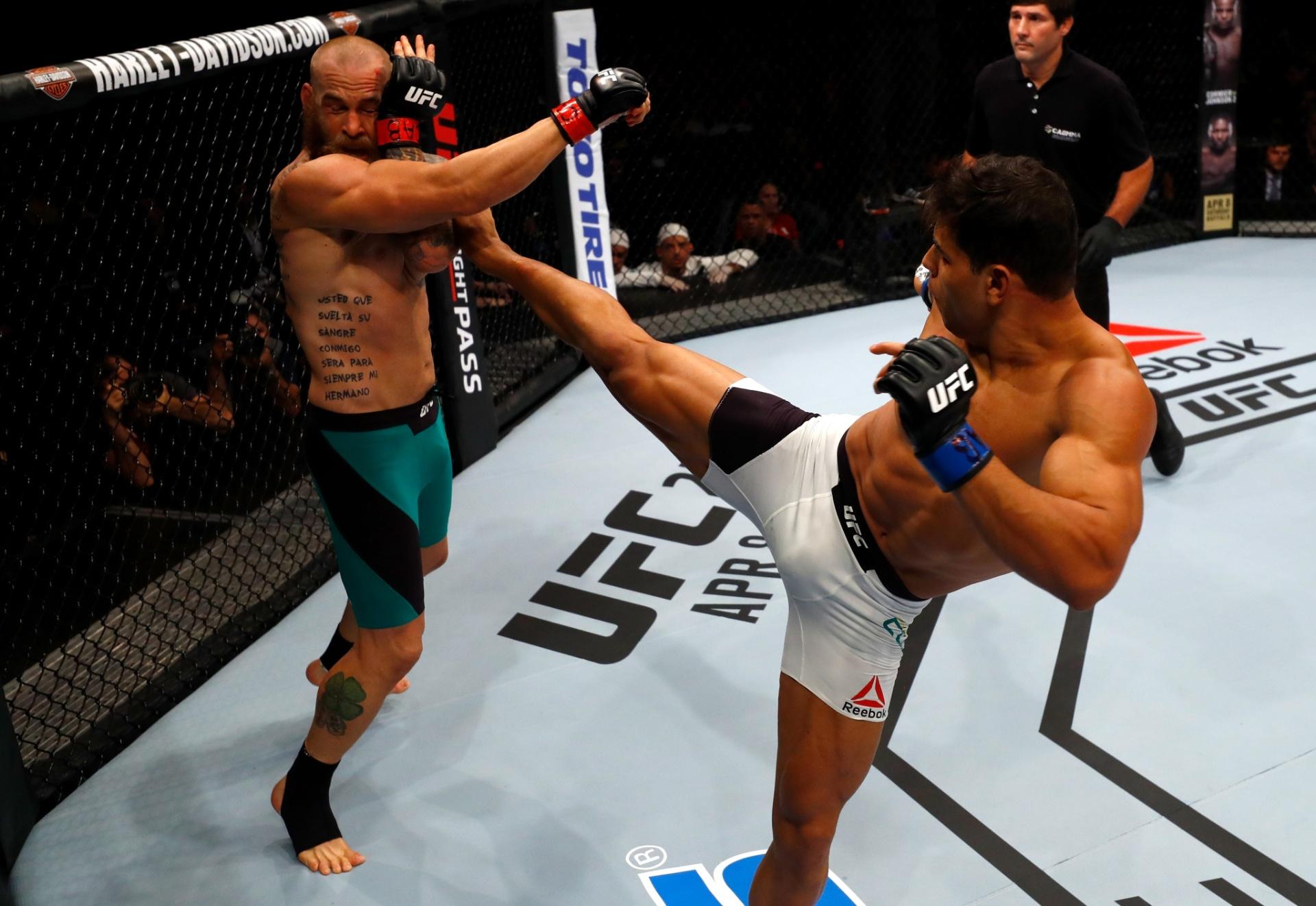 Borrachinha e McLellan se enfrentam no UFC Fortaleza