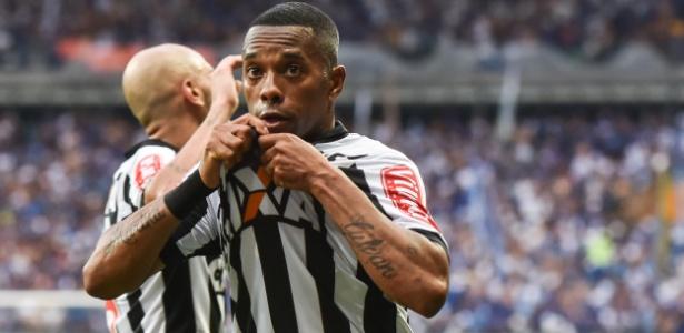 Robinho não permanecerá no Atlético-MG em 2018