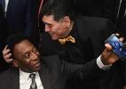 "Pelé se solidariza com Maradona: ""Espero que se sinta melhor logo"" - Michael Regan - FIFA/FIFA via Getty Images"