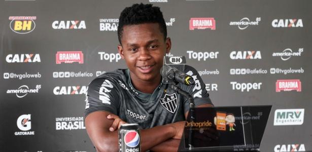 Meia de criação, Cazares quer atuar mais solto e sem tanto compromisso de voltar - Bruno Cantini/Divulgação/Atlético-MG