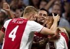 David Neres se destaca em vitória do Ajax; ex-corintiano salva o Shakhtar - Stanley Gontha/AFP