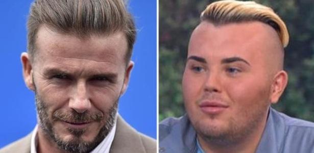 Jack Johnson tenta ficar parecido com David Beckham
