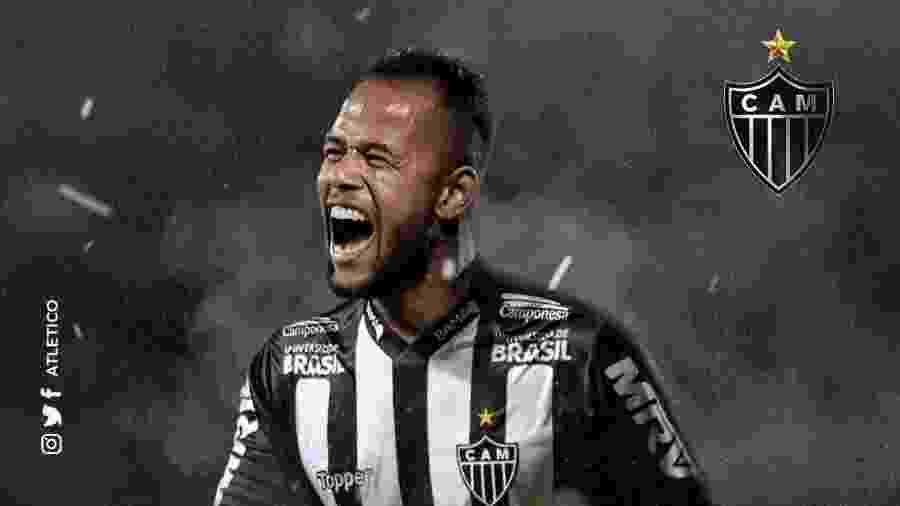 Geuvânio é anunciado como novo reforço do Atlético-MG - Divulgação/Atlético-MG