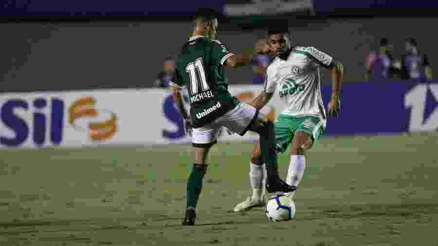 Goiás venceu Chapecoense por 3 a 1 no primeiro turno do Brasileirão 2019 - Heber Gomes/AGIF