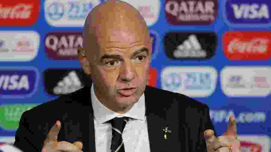 Gianni Infantino, presidente da Fifa - Elsa/Getty Images