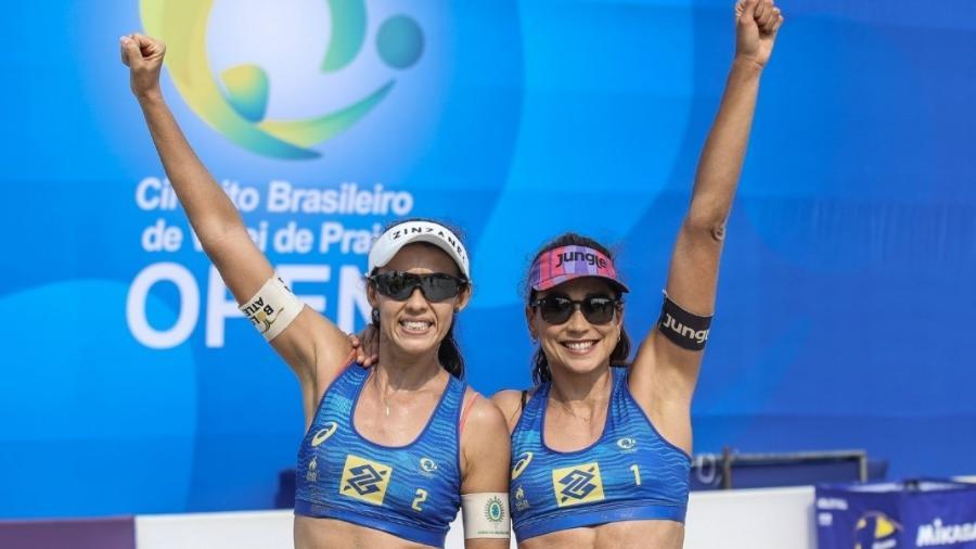 Talita e Carol - Divulgação/CBV