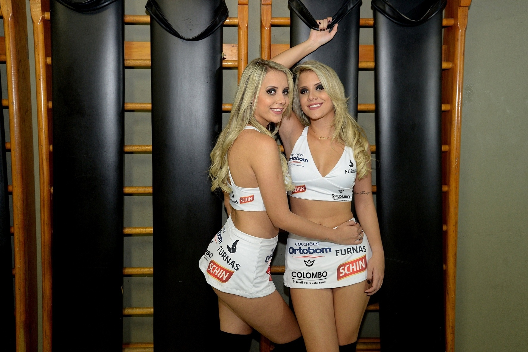 Gêmeas do BBB 15, Amanda e Andressa serão ring girls do Jungle Fight mais uma vez, no evento 79