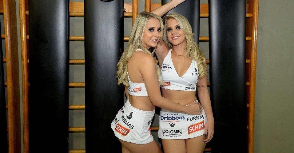 Gêmeas do BBB 15, Amanda e Andressa serão ring girls do Jungle Fight mais uma vez, no evento 79