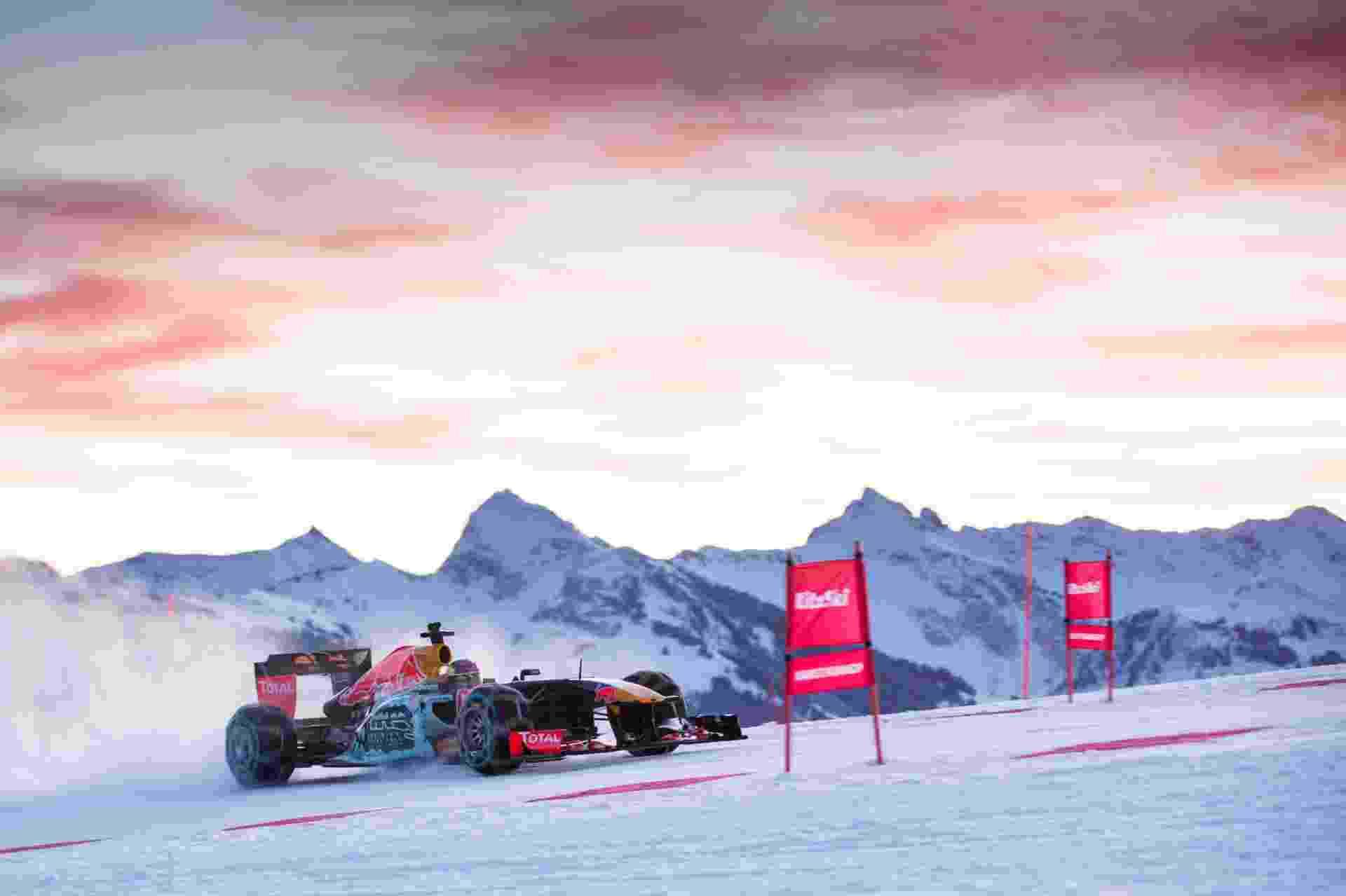 Max Verstappen faz apresentação na Áustria com a Red Bull - Red Bull/Divulgação