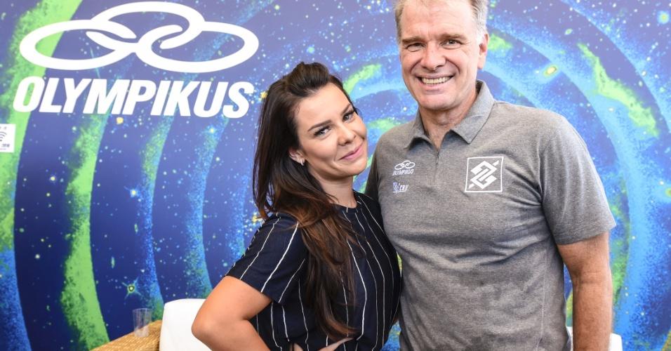 Fernanda Souza e Bernardinho