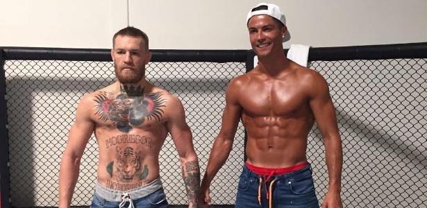 Conor McGregor e Cristiano Ronaldo se encontraram no final de julho em Las Vegas