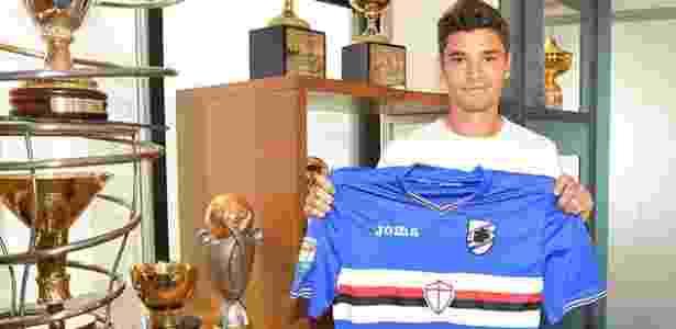 Dodô foi revelado pelo Corinthians e passou pelo Bahia antes de ir à Itália - Divulgação/Sampdoria