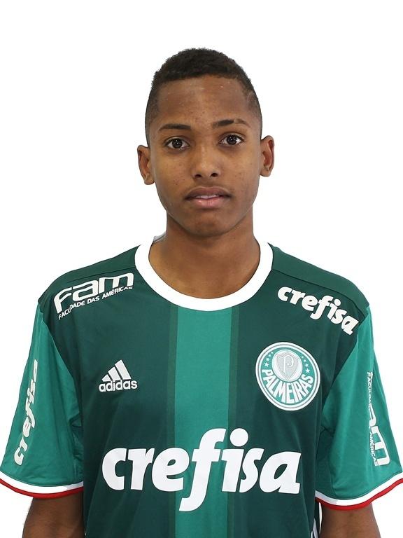 Fernando, atacante sub-17 do Palmeiras