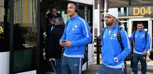 Gabigol é um dos atletas da Inter a ir para a intertemporada da equipe na Espanha