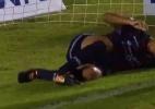 Jogador quebra o pé ao fazer gol na segundona mexicana - Reprodução