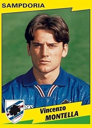 VINCENZO MONTELLA, técnico do Sevilla, foi um atacante de sucesso na Sampdoria, Roma e na seleção italiana