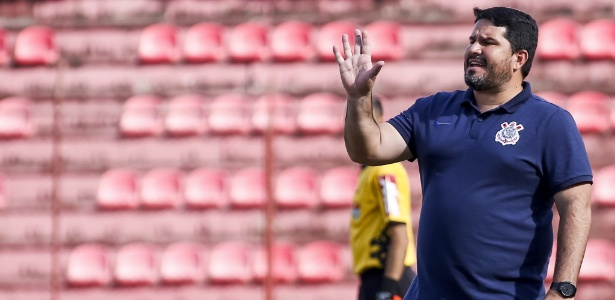 Eduardo Barroca, treinador do sub-20 do Corinthians - Rodrigo Gazzanel/Agência Corinthians