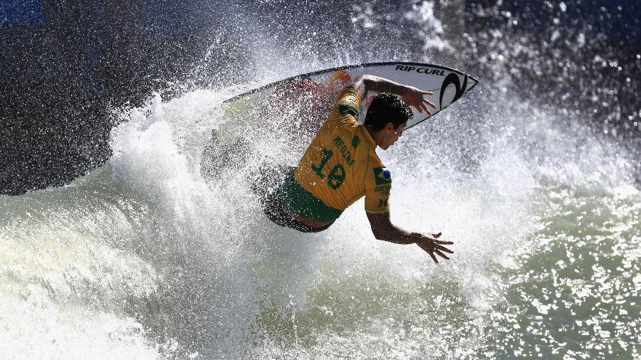 Gabriel Medina, na final da etapa Surf Ranch Pro - Sean M. Haffey/Getty Images