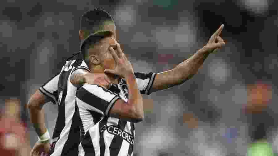Erik novamente tem sido destaque no Botafogo e tem comemoração característica - @Botafogo/Twitter