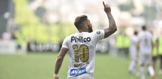 Atacante de 22 anos tem contrato até 2021 com a Inter de Milão, mas pode ser reemprestado - Divulgação/Santos FC