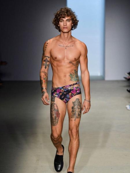 Jou Bellini, modelo internacional, já competiu no salto com vara com Thiago Braz - Divulgação