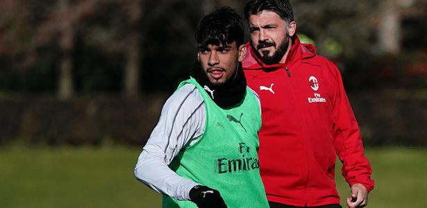 Paquetá tem agradado ao técnico Gennaro Gattuso no Milan