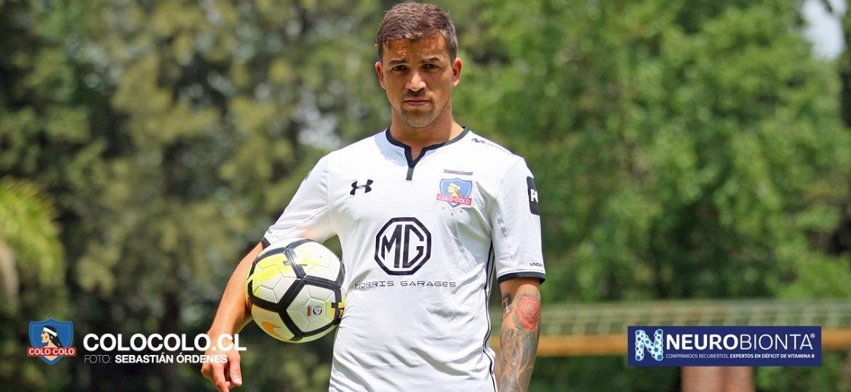 Gabriel Costa, jogador do Colo-Colo - Divulgação/Colo Colo