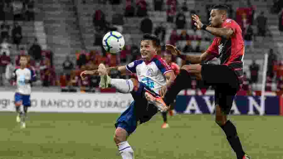 Athletico levou a melhor na Arena da Baixada e venceu por 1 a 0 - Cleber Yamaguchi/AGIF