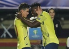 """Salsa choke, Mina zoeiro e James """"local"""" deixam Colômbia em paz no Brasil - REUTERS/Amanda Perobelli"""