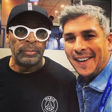 Ivan Moré tieta Spike Lee no US Open - Reprodução/Instagram