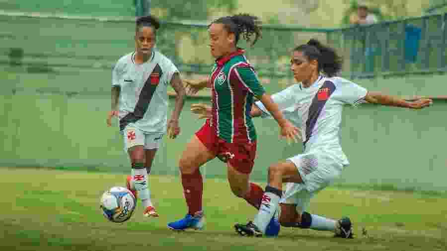 Semifinal do Campeonato Carioca Feminino entre Vasco e Fluminense teve episódio de injúria racial - LAÍS PATRÍCIO/ FLUMINENSE F.C.