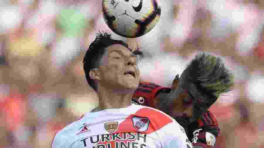 Enzo Pérez é um dos ídolos do River Plate que perdeu a final da Libertadores para o Flamengo - Ernesto Benavides/AFP