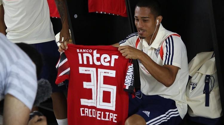 Caio chegou a ser relacionado para o jogo contra o CSA na última rodada do Brasileirão de 2019 - Rubens Chiri/saopaulofc.net
