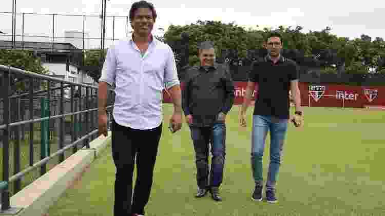 Raí começa a terceira temporada como diretor-executivo de futebol do São Paulo - Rubens Chiri/saopaulofc.net