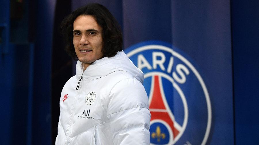 Cavani nem esperou o fim da Liga dos Campeões para ir embora do PSG - Franck Fife/AFP