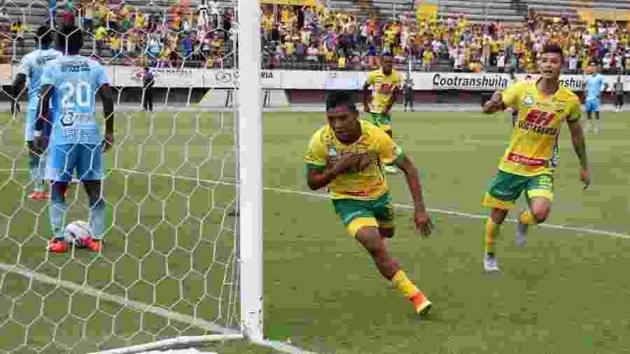 Andrés Amaya é meia-atacante e foi contratado pelo Internacional por empréstimo - Divulgação/Atlético Huila