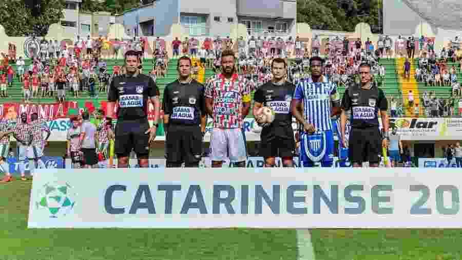 Avaí, de Betão, terminou a primeira fase do Catarinense na liderança - Ricardo Artifon/CAC
