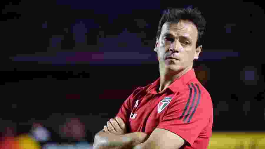 Fernando Diniz, técnico do São Paulo - Bruno Ulivieri/AGIF