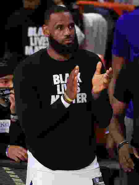 LeBron James - Michael Reaves/Getty Images - Michael Reaves/Getty Images