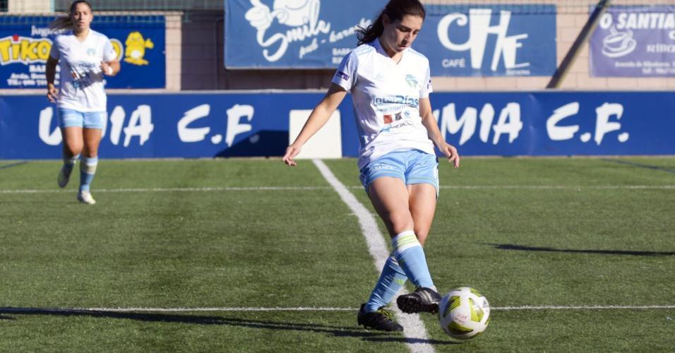 Paula Dapena, jogadora espanhola que protestou contra Maradona