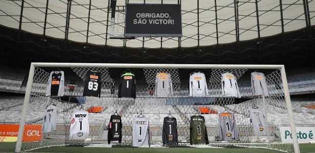 Atlético-MG oficializa saída e homenagem em último jogo do goleiro Victor