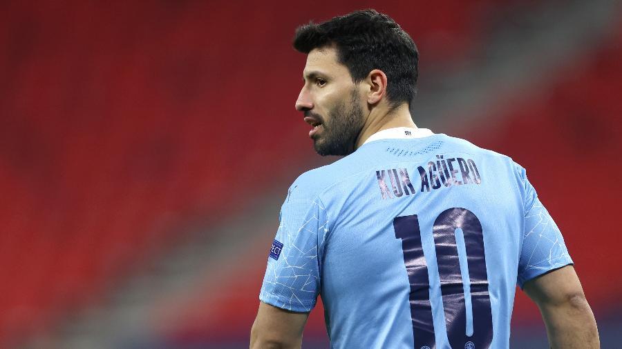 Sergio Aguero pode formar dupla com Messi no Barça - Divulgação/Manchester City FC