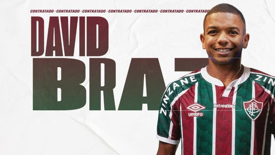 David Braz é o sexto reforço anunciado pelo Fluminense no mercado da bola - Divulgação/Fluminense FC