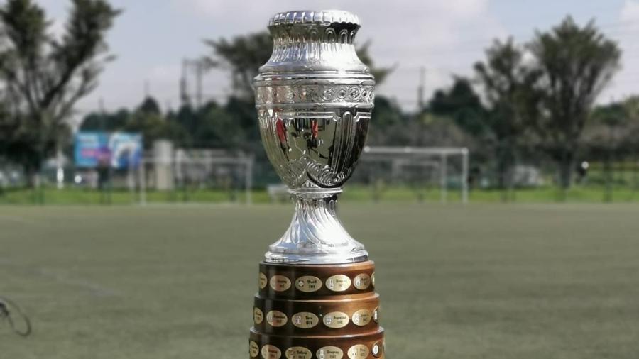 Taça da Copa América - Divulgação/@CopaAmerica
