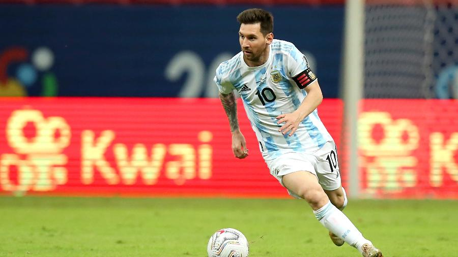 Desgastado, Messi pode ser sacado para partida contra Bolívia - Alexandre Schneider/Getty Images
