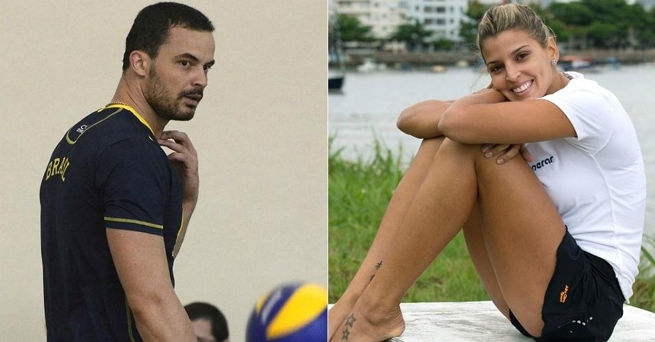 Jogadores de vôlei, Riad e Mari Paraíba namoraram por quase dois anos