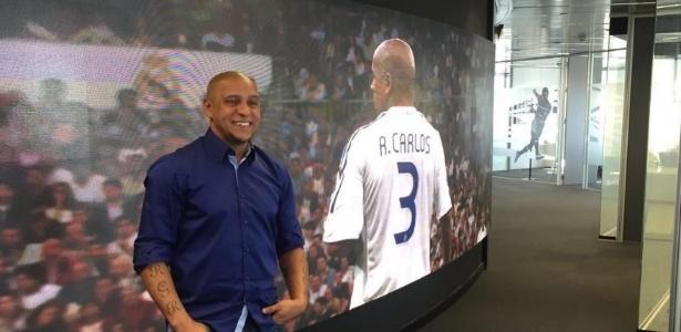 Roberto Carlos é um dos ídolos do Real Madrid
